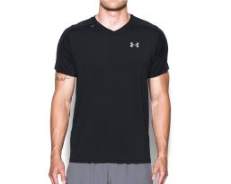 Ua Coolswitch Run Vneck S/S