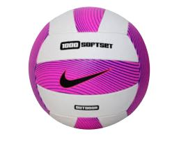1000 Softset Outdoor Volleyball Deflated